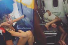 11 Kelakuan absurd penumpang pesawat terbang ini bikin tepuk jidat