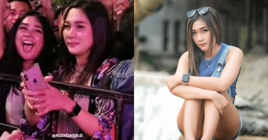 4 Fakta Anggitha, model cantik yang viral di konser Didi Kempot
