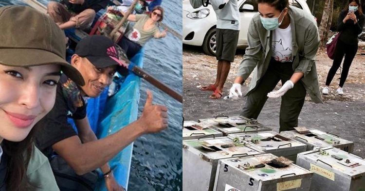 Kisah Manohara jadi aktivis lingkungan, 10 aksinya bikin salut