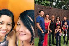 8 Momen kebersamaan Melanie dan Christy Subono, sibling goals