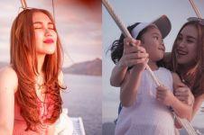11 Momen Ayu Ting Ting liburan ke Labuan Bajo, kaki jadi sorotan