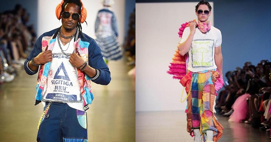 5 Potret outfit dari karung bekas Indonesia di New York Fashion Week