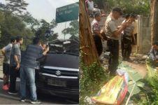 Mobil APV terguling di Tol Jagorawi, tiga orang tewas