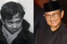 Mengenang BJ Habibie lewat 7 potret masa mudanya