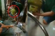 Buktikan gas yang dibeli berisi air, pria ini bernasib tragis