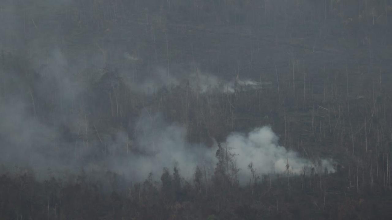 Ada kejanggalan kebakaran hutan, TNI pantau dengan drone 24 jam