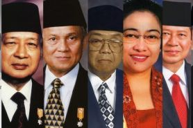 Kisah cinta Presiden Indonesia siapa sih yang cocok sama kamu?