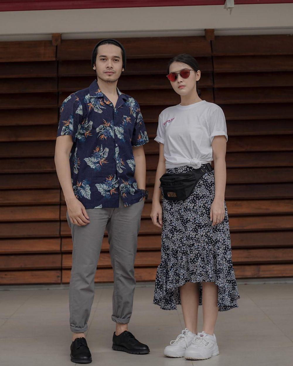 Ana Riana dan pacar nyata Willy instagram