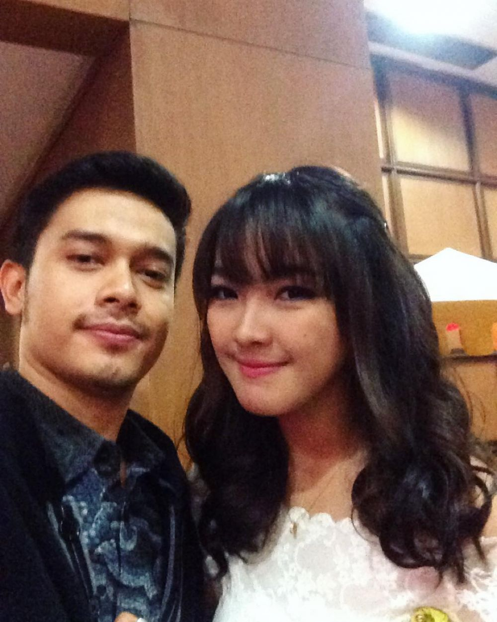 Ana Riana dan pacar nyata Willy instagram