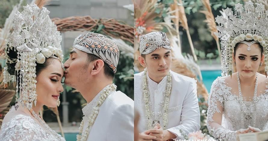 9 Momen pernikahan Ichal Muhammad mantan Cita Citata, meriah