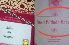 10 Nama unik di undangan ini bikin mikir keras