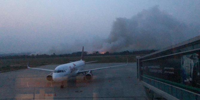 Dampak kabut asap, ini daftar bandara yang batalkan penerbangan