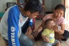 Kisah pilu bayi diberi kopi karena orangtua tak mampu beli susu