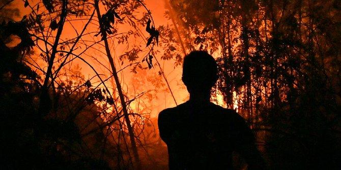 Kebakaran hutan, penyebaran kabut asap hingga Singapura & Malaysia