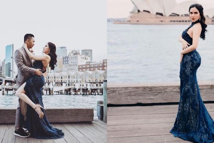 10 Foto liburan Sally Adelia bareng pacar di Aussie, glamor abis