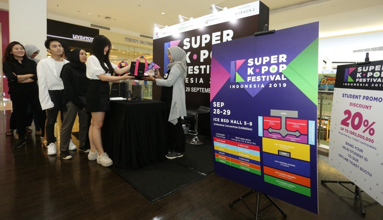 Hadirkan 11 bintang K-Pop, Super K-pop Festival 2019 siap digelar