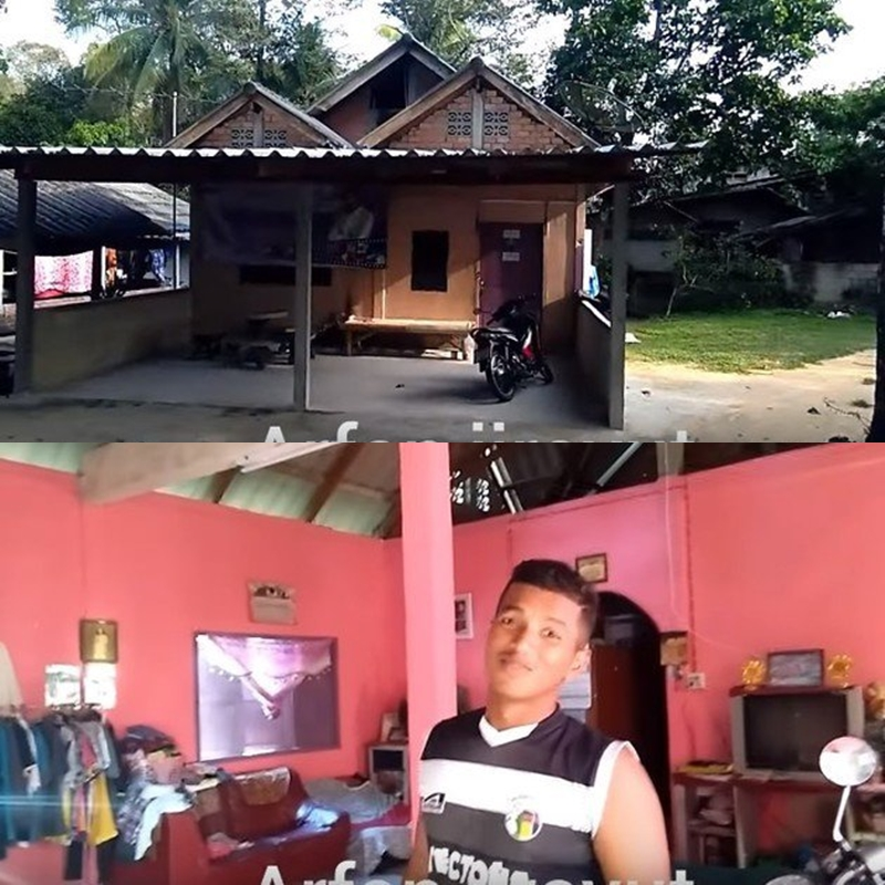 rumah jebolan D'Academy  Instagram & YouTube