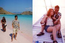 8 Momen adik Ayu Ting Ting & pacar di Labuan Bajo, bak prewedding