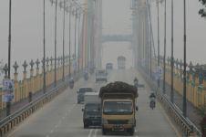 Dampak kabut asap, belasan ribu masyarat di Riau terkena ISPA