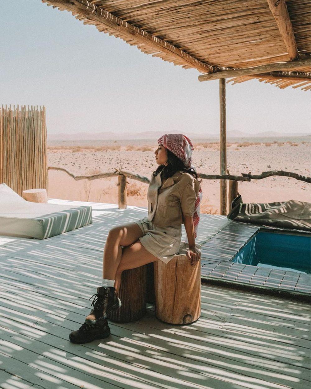 9 Momen Nikita Willy & pacar liburan ke Afrika, seru bare
