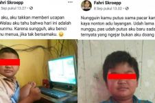 Sosok Fahri Skroepp, bocah sadboy yang viral karena status galau