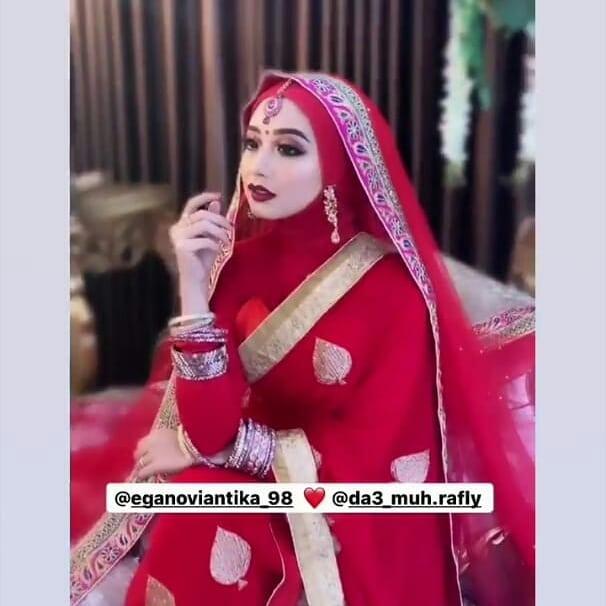 Momen prewedding Ega Rafly D'Academy instagram