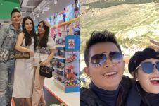 10 Momen kedekatan Ayu Ting Ting dan Nanda Fachrizal, bak saudara