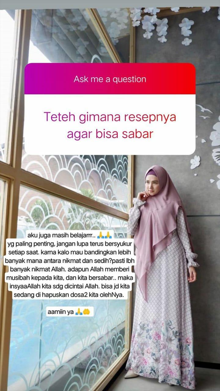 respons Mulan Jameela hadapi haters instagram