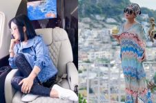 7 Momen liburan Syahrini & Reino di Italia, tasnya curi perhatian