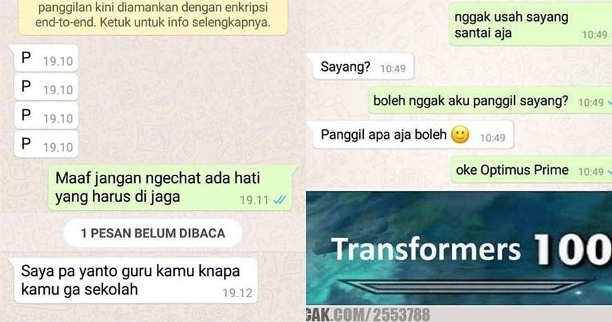 10 Chat lucu 'akibat terlalu baper' ini endingnya bikin cekikikan