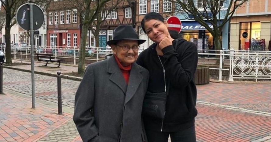 Cerita sedih Melanie Subono saat tahlilan meninggalnya BJ Habibie