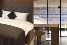 Hotel di stadion Piala Dunia ini unik, bisa nonton laga dari kamar