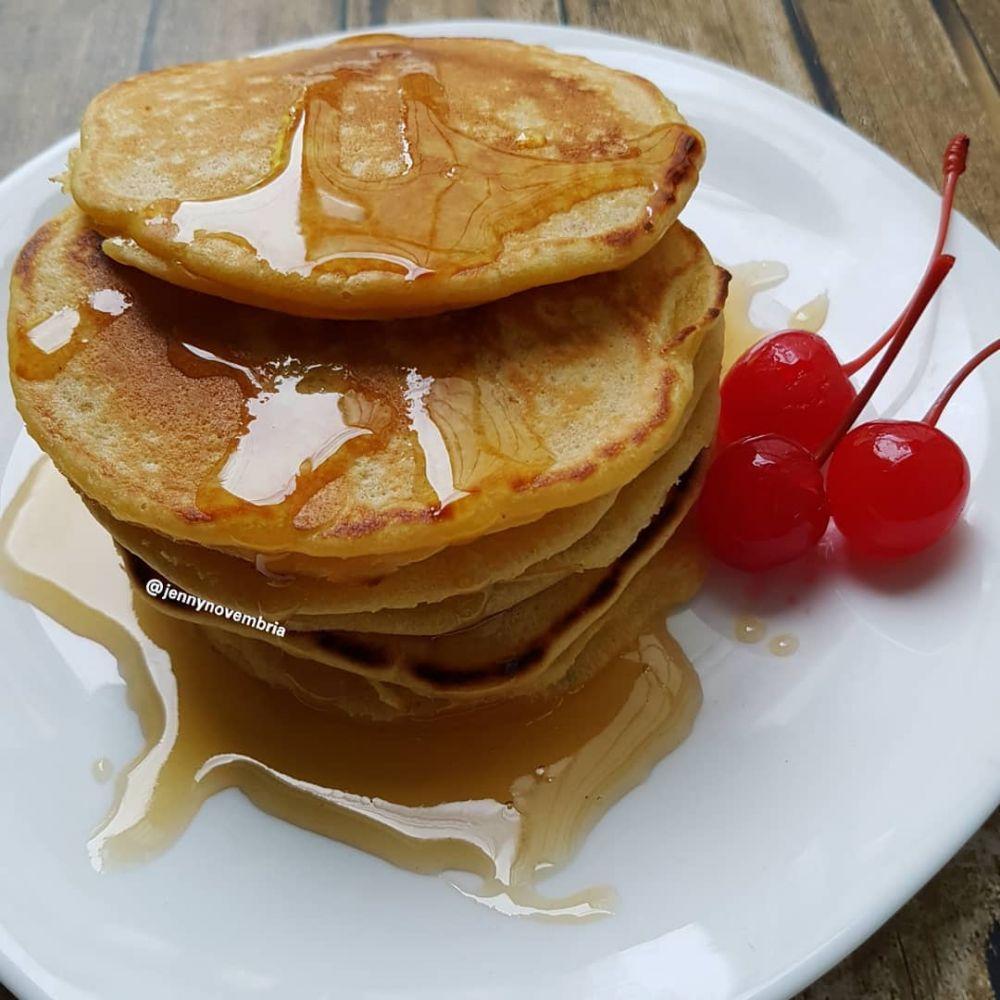 20 Resep pancake lezat, sederhana dan mudah dibuat Instagram