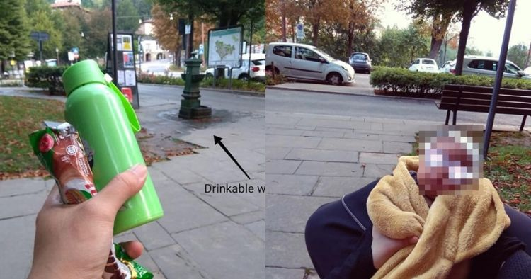 Kisah pria biarkan istri dan bayinya tidur di jalan saat traveling