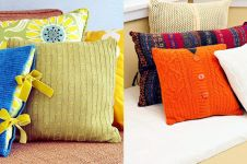 15 Inspirasi sarung bantal sofa dengan desain kekinian