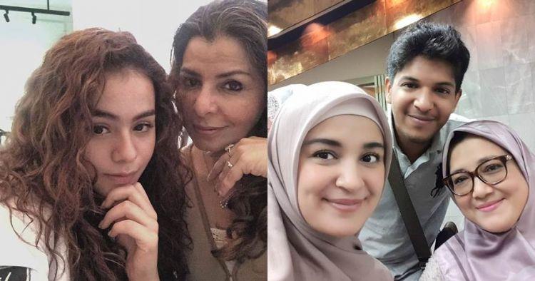 Momen 9 seleb keturunan Arab bareng ibu, Sahila Hisyam jadi sorotan