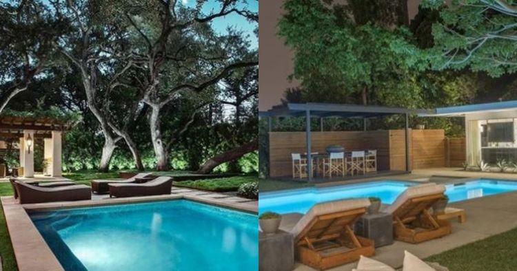 Mengintip potret kolam renang 10 seleb Hollywood, super mewah