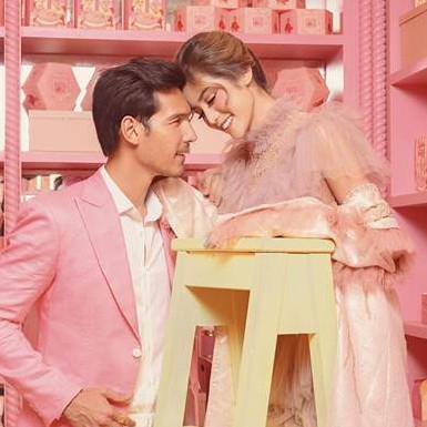 6 Potret Jessica Iskandar & Richard Kyle fitting baju pernikahan