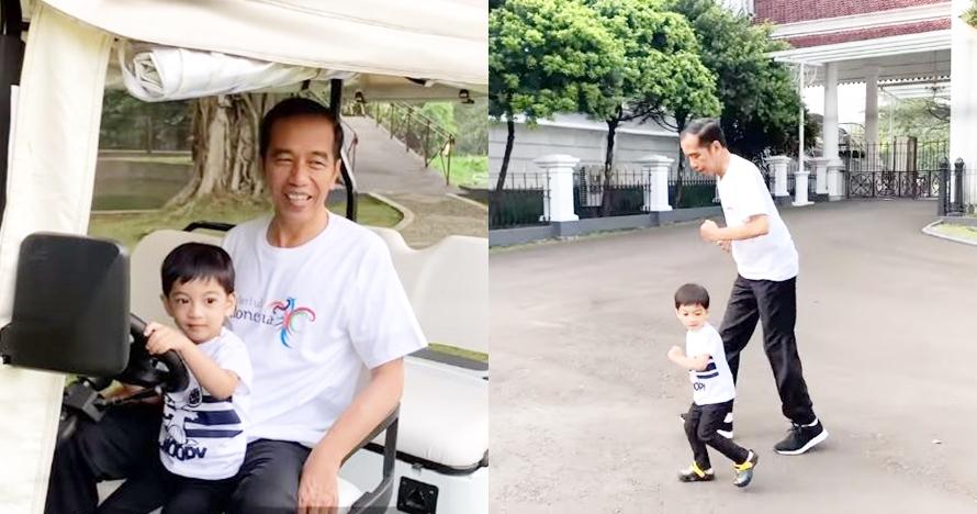 Jawaban lucu Jan Ethes saat ditanya hewan kesukaan oleh Jokowi
