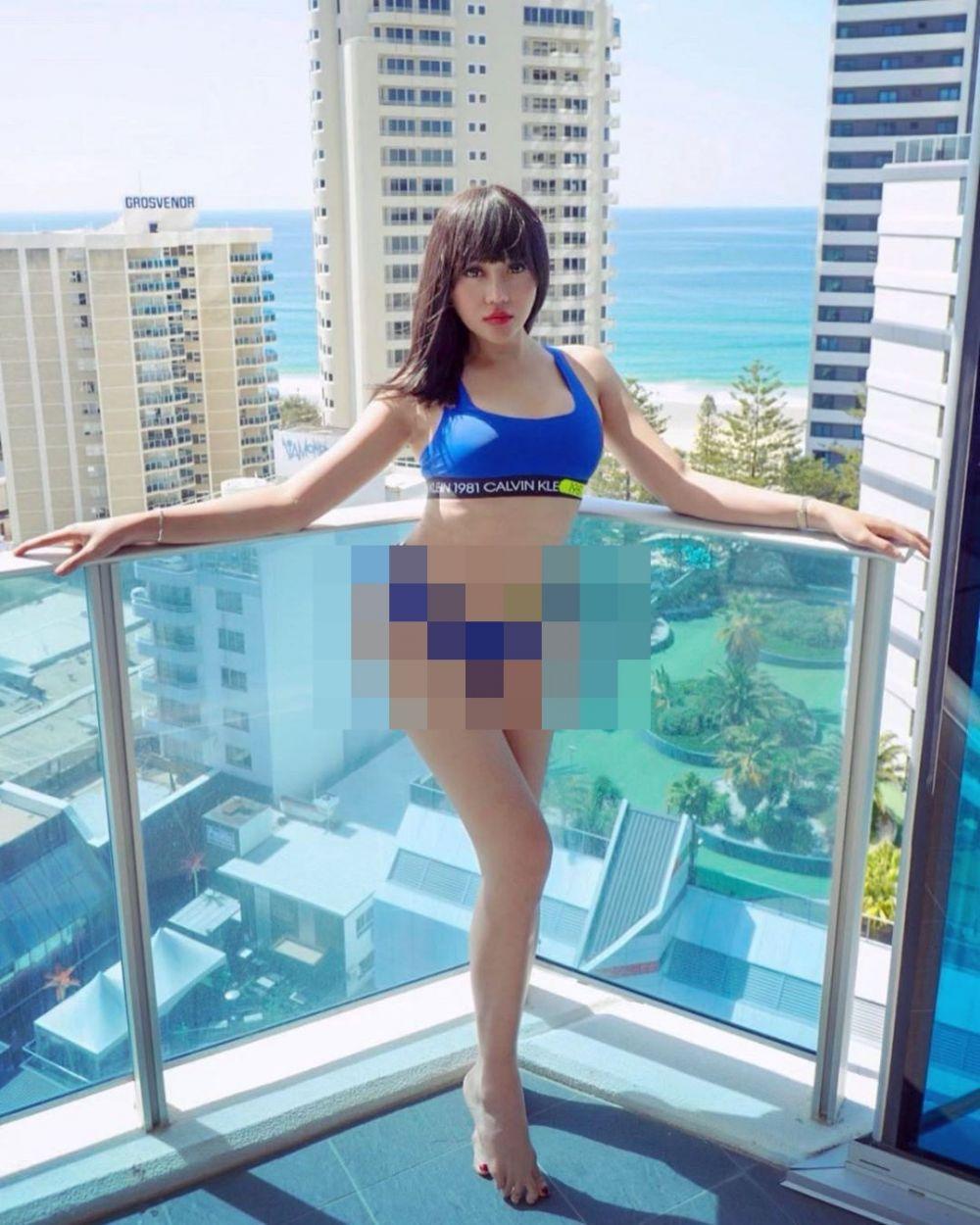 Unggah foto pakai bikini Instagram/@lucintaluna