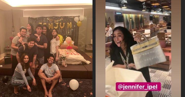10 Momen perayaan ultah Jennifer Ipel, bentuk kuenya jadi sorotan