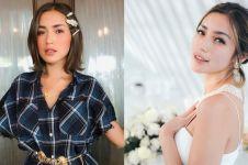 9 Pesona Jessica Iskandar kenakan kebaya, anggun menawan