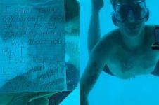 Lamar kekasihnya di bawah air, pria ini malah alami nasib tragis