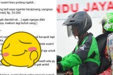 Kisah haru driver ojek online tak tagih tarif penumpang tunanetra