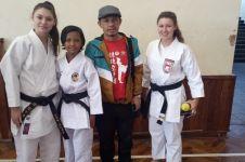 Heizmy, atlet cilik asal Purwakarta juara 1 kejuaraan Karate di Eropa