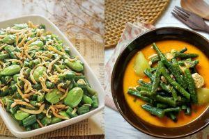 20 Resep masakan kacang panjang, enak, sederhana, dan mudah dibuat
