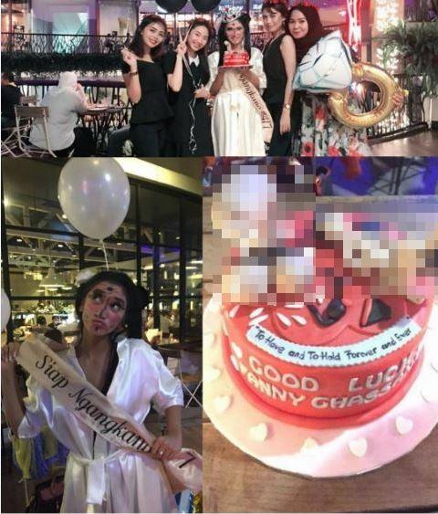 Kue pesta kejutan seleb jadi sorotan  Instagram