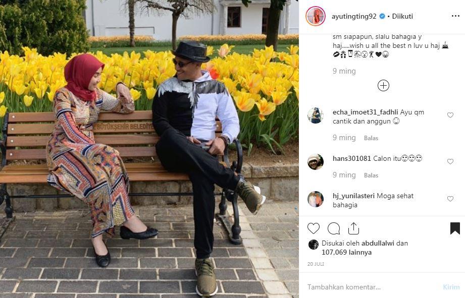 Momen Ayu Ting Ting sama cowok tuai pujian  Instagram