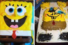 10 Penampakan kue tak sesuai ekspektasi ini bikin tepuk jidat