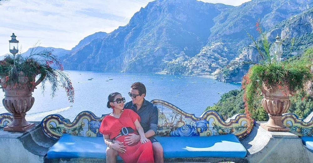 pasangan seleb di Italia  Instagram